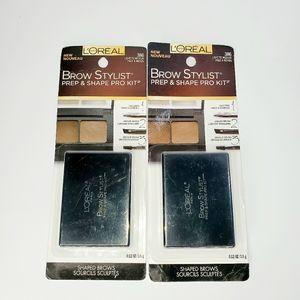 L'Oréal brow stylist pro kit. Bundle